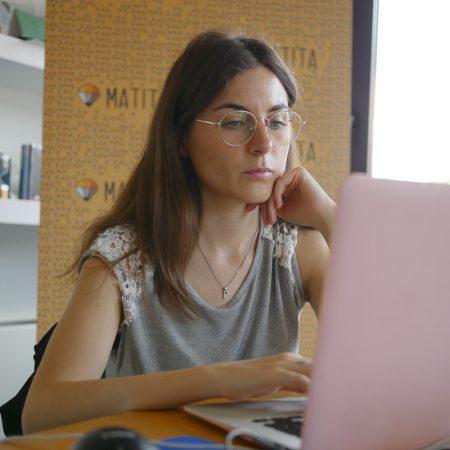Paola insegnante di scrittura commerciale